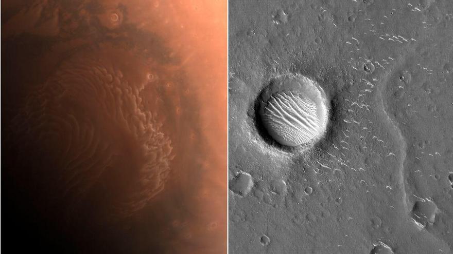 China difunde nuevas imágenes de Marte captadas por su sonda Tianwen-1