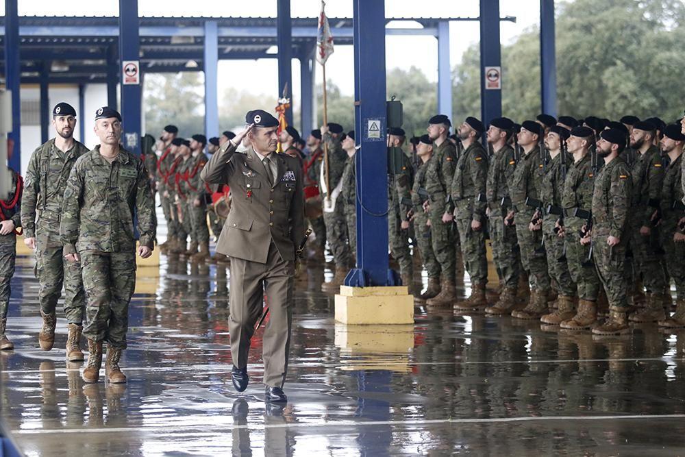 La Brigada despide a los soldados que viajarán a Letonia