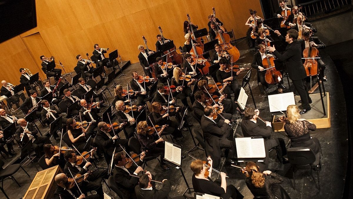 Imagen de archivo de un concierto de la Orquesta Filarmónica de Málaga.