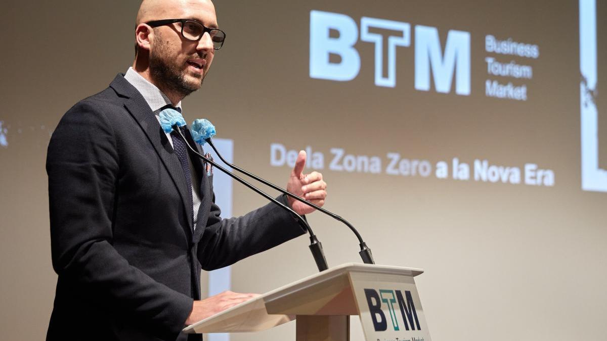 L'alcalde de Lloret, Jaume Dulsat, al BTM.