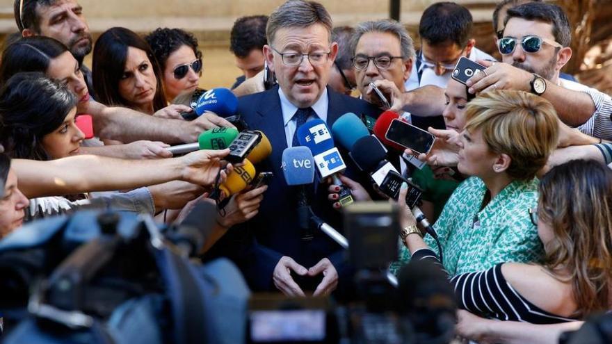 Los socialistas cierran filas en Castellón con el 'president' Puig
