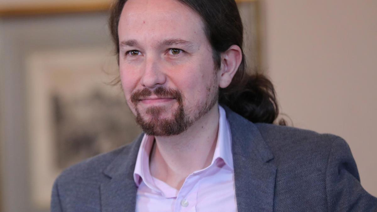 El vicepresidente segundo del Gobierno y líder de Unidas Podemos, Pablo Iglesias