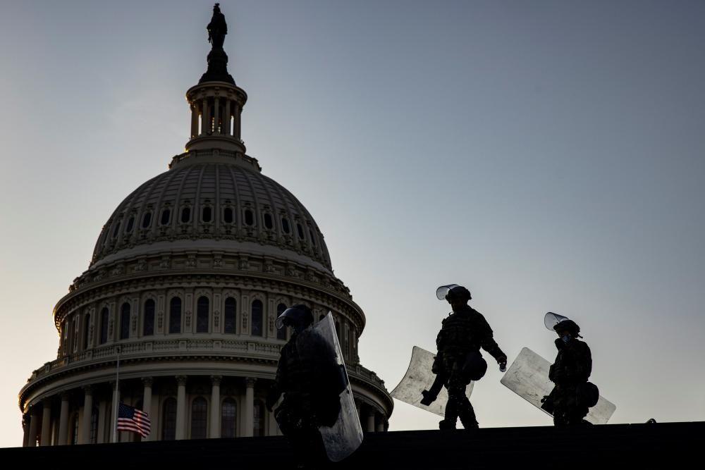 Seguridad en el Capitolio de Estados Unidos