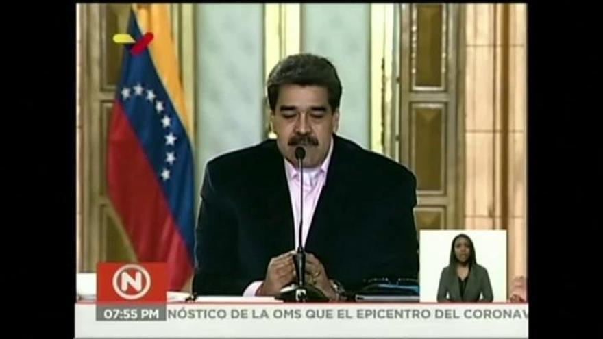 """Maduro asegura que Leopoldo López usa la embajada española """"para conspirar"""""""