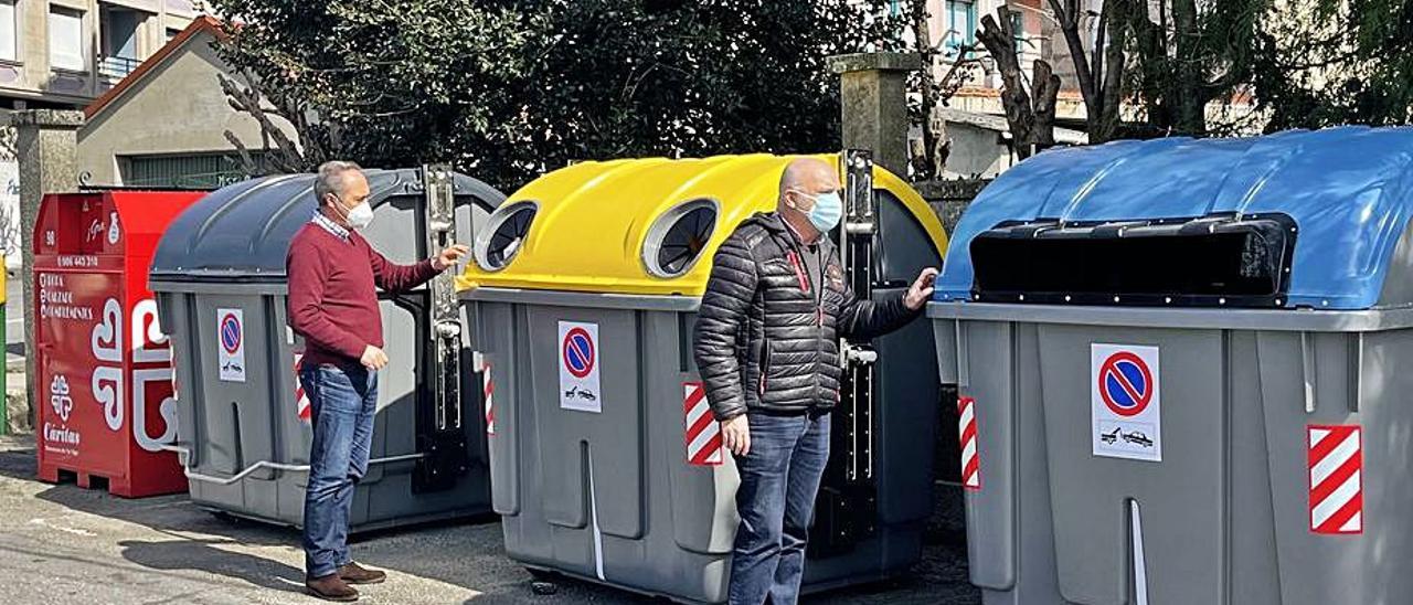 Una de las nuevas islas de recogida de residuos de Arcade. |   // FDV