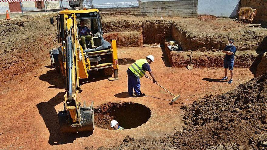 Las obras en una vivienda particular de Benavente dejan al descubierto 7 silos antiguos