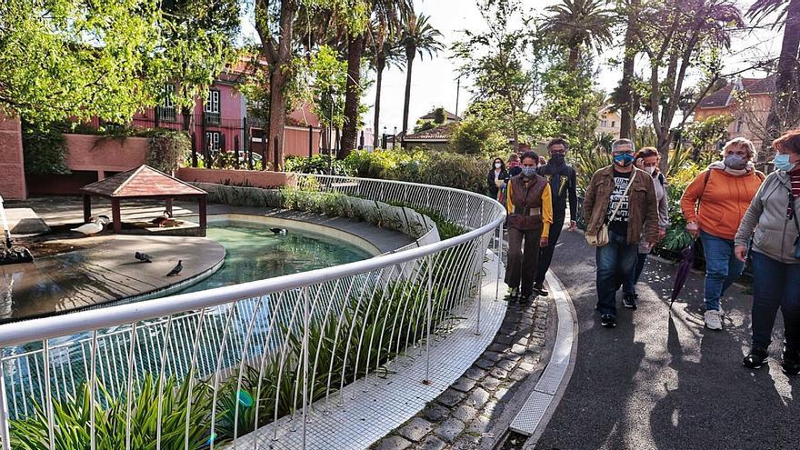 La ruta de los manantiales que crearon La Laguna