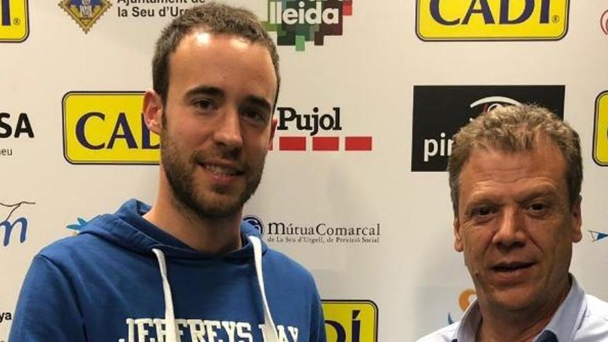 Bernat Canut continuarà una temporada més com entrenador del Cadí La Seu