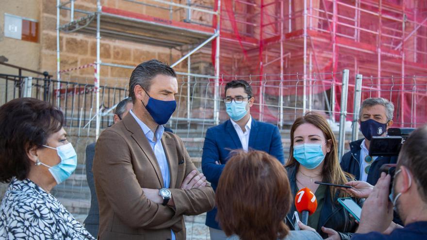 La Comunidad completará las obras de las cubiertas y fachadas de la Basílica de Caravaca