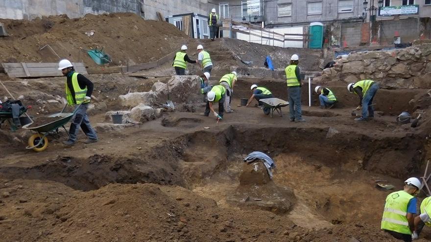 Un tesoro arqueológico de 95.000 piezas oculto en pleno casco urbano