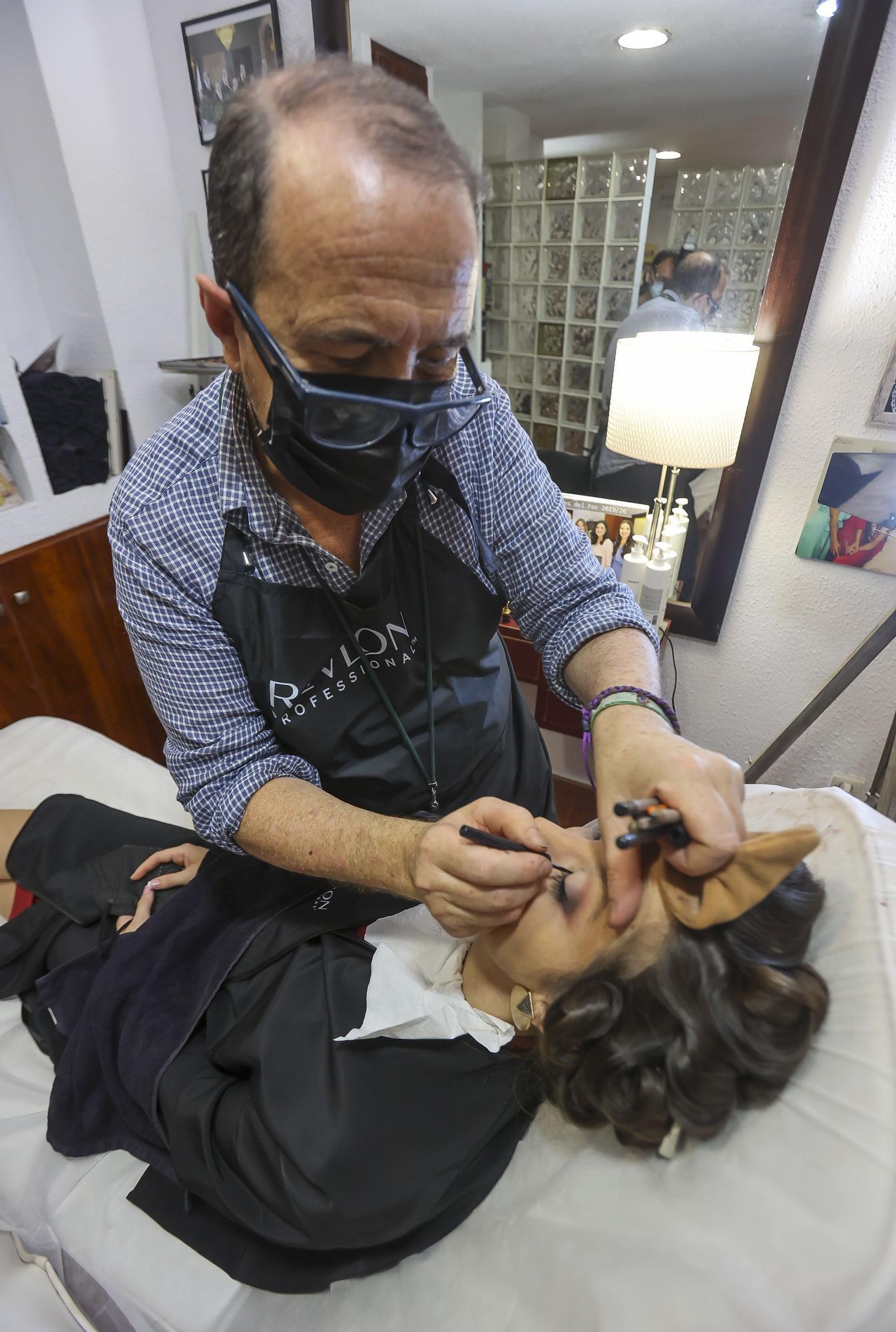 Marina Niceto Valera, Bellea del foc y sus damas, tras la noche de la elección