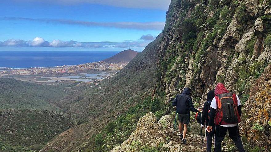 Cuarenta y nueve kilómetros de Tunte a Gáldar para aprender a dejar atrás las limitaciones