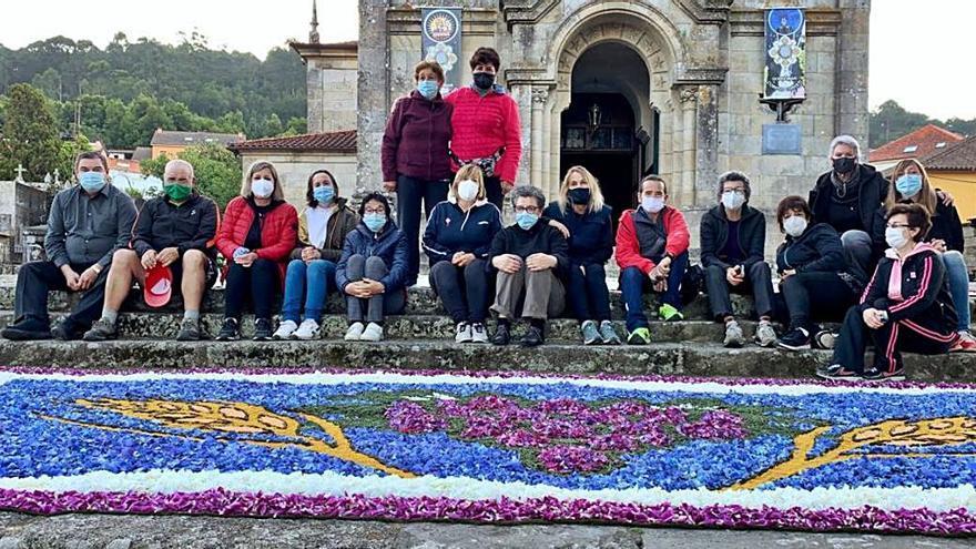 La alfombra mundial del Xacobeo llega el domingo a Gondomar