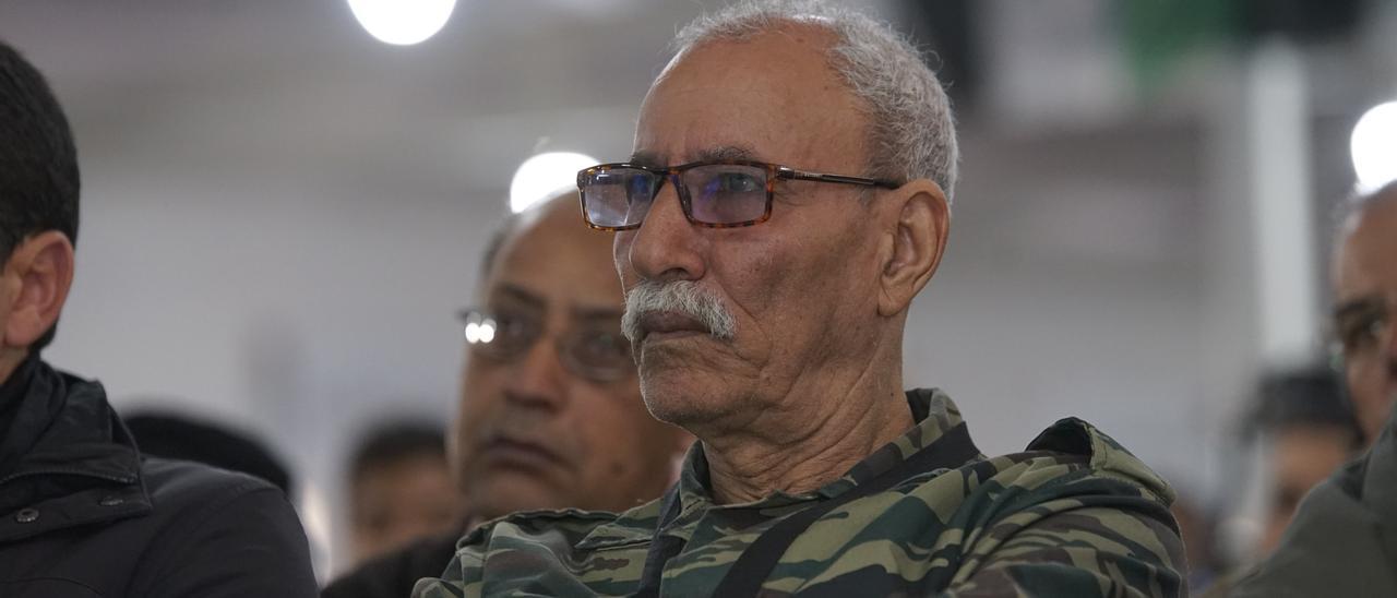 Una imagen de Brahim Ghali, jefe del Frente Polisario y presidente de la RASD.