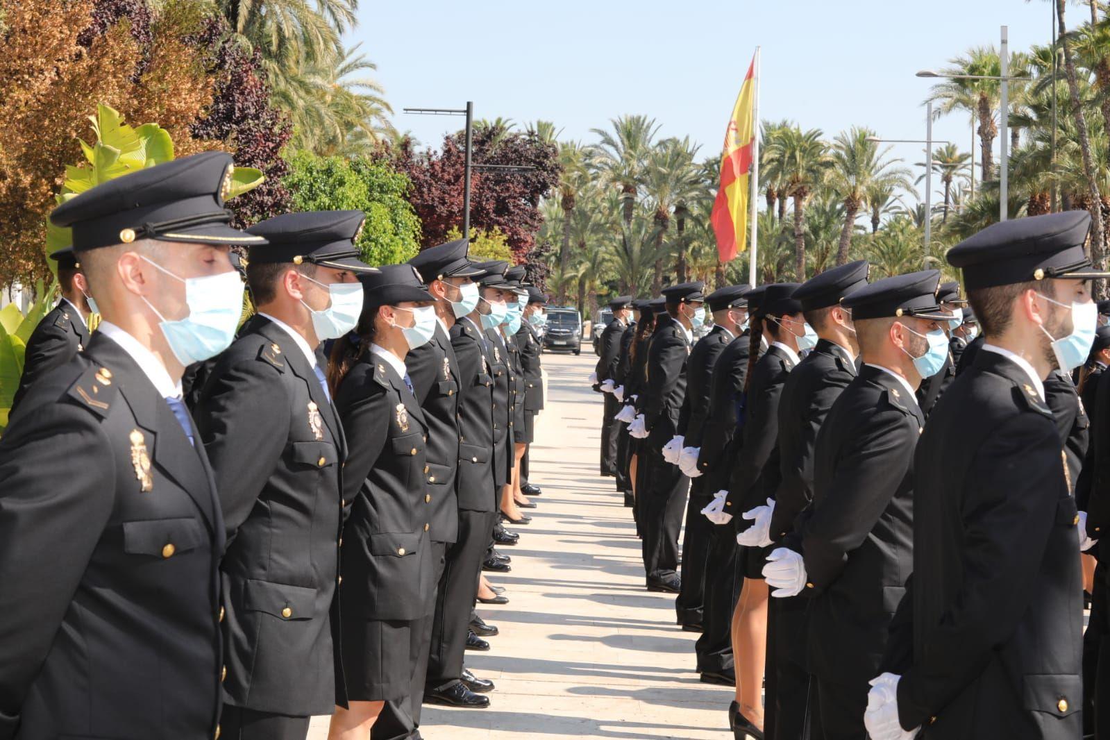 Juramento en Elche de los 205 nuevos agentes de la Policía Nacional