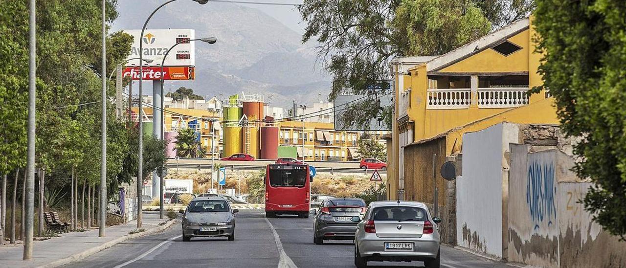 Urbanismo proyecta reurbanizar Gastón Castelló y acercar Villafranqueza a la ciudad
