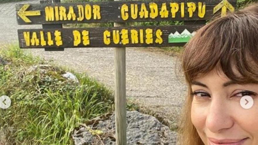 Natalia Verbeke, vacaciones especiales en Asturias