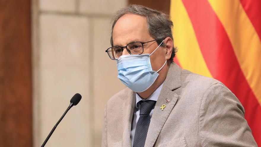Torra proposa que els ajuntaments catalans no transfereixin el superàvit al govern espanyol