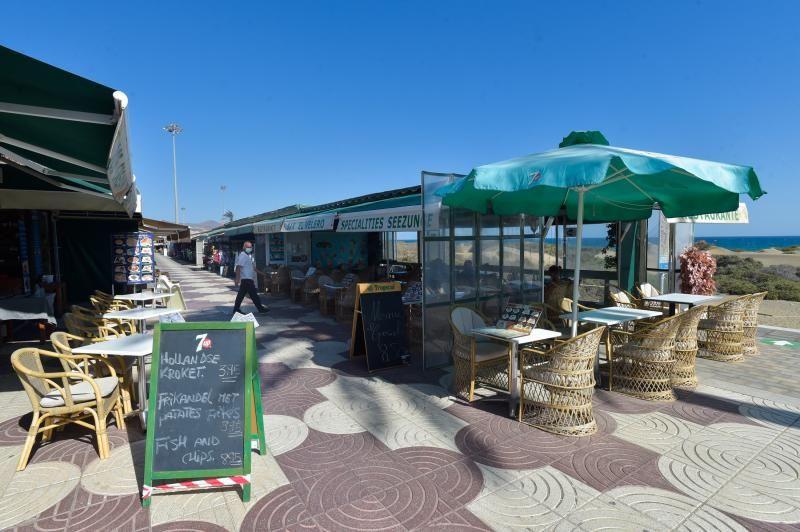 Zonas turísticas en noviembre en  Canarias