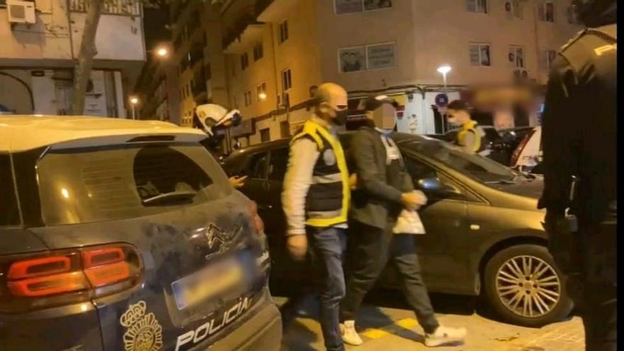 Detenido el nieto de la Paca, que causó el ataque a policías en Son Banya
