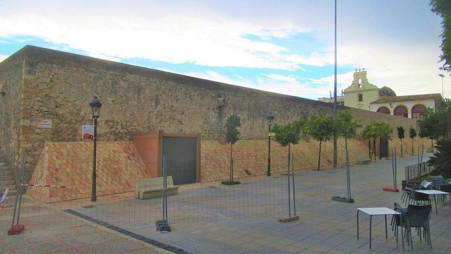 Dos años del desplome del muro de los Silos que causó la tormenta