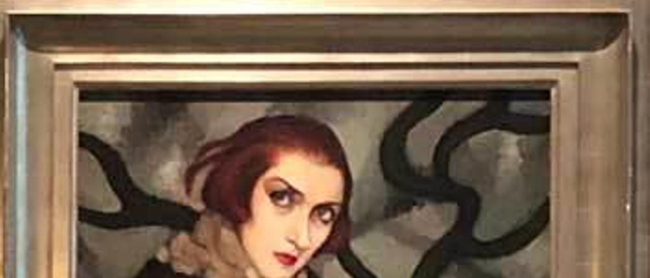 Obra de Tamara de Lempicka.