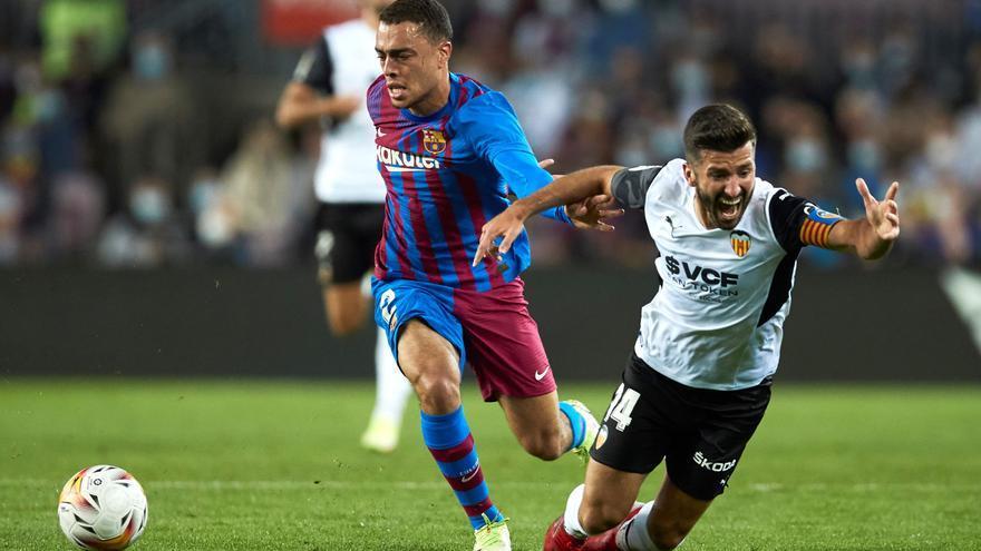 La sorprendente reacción de Fouto al fallo de Gil Manzano en el FC Barcelona - Valencia CF