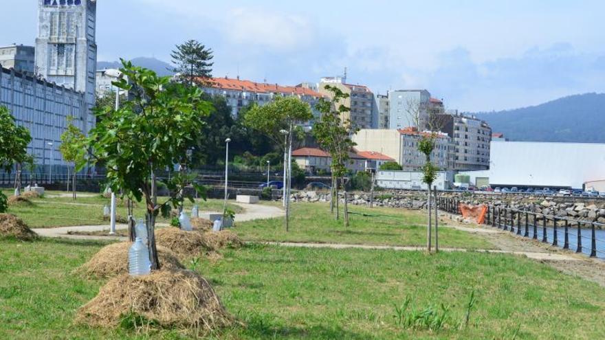 El Puerto de Vigo vuelve a advertir al Concello con la vía judicial por no reparar el paseo de O Salgueirón