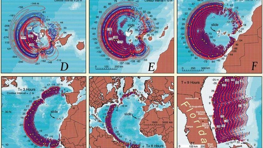 El bulo del tsunami de La Palma que acabaría con EE UU