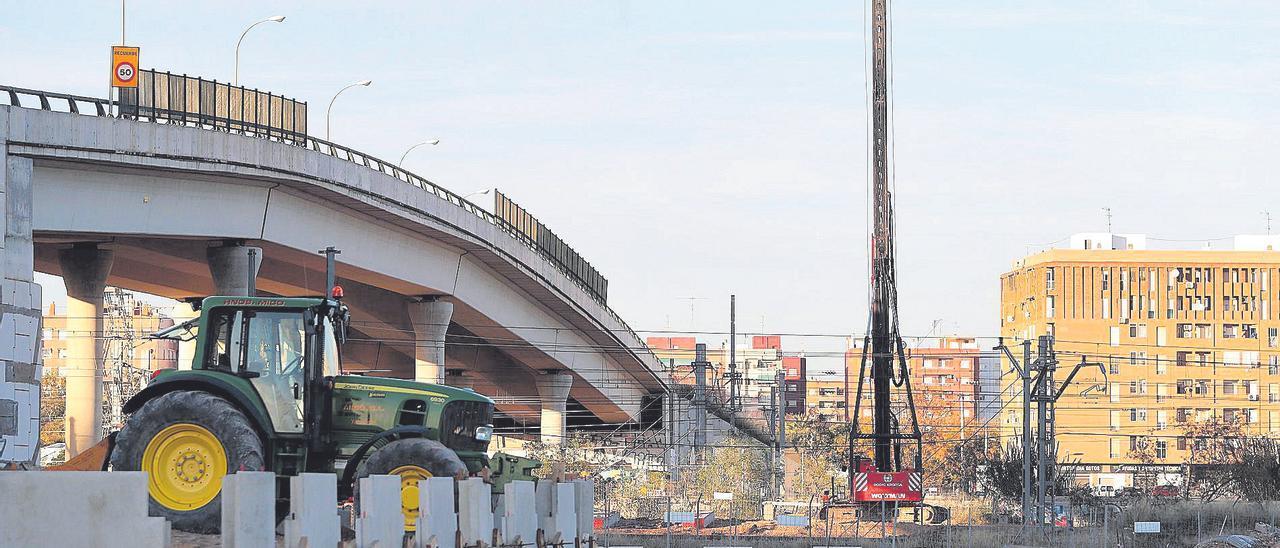 Amplían el puente que unirá la ciudad con el nuevo barrio de la Fe