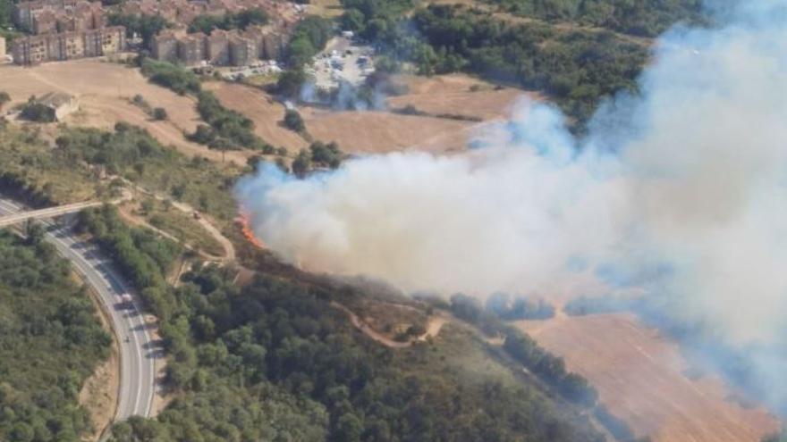Activat en fase d'alerta el pla d'emergències per incendis davant l'elevat risc entre aquest dilluns i dimecres