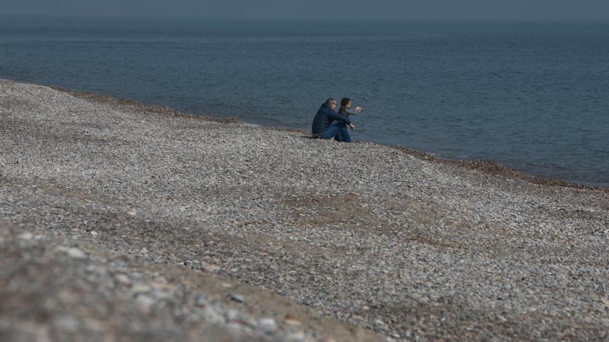 Costas no garantiza la eliminación del foso de la playa de Almardà antes del verano