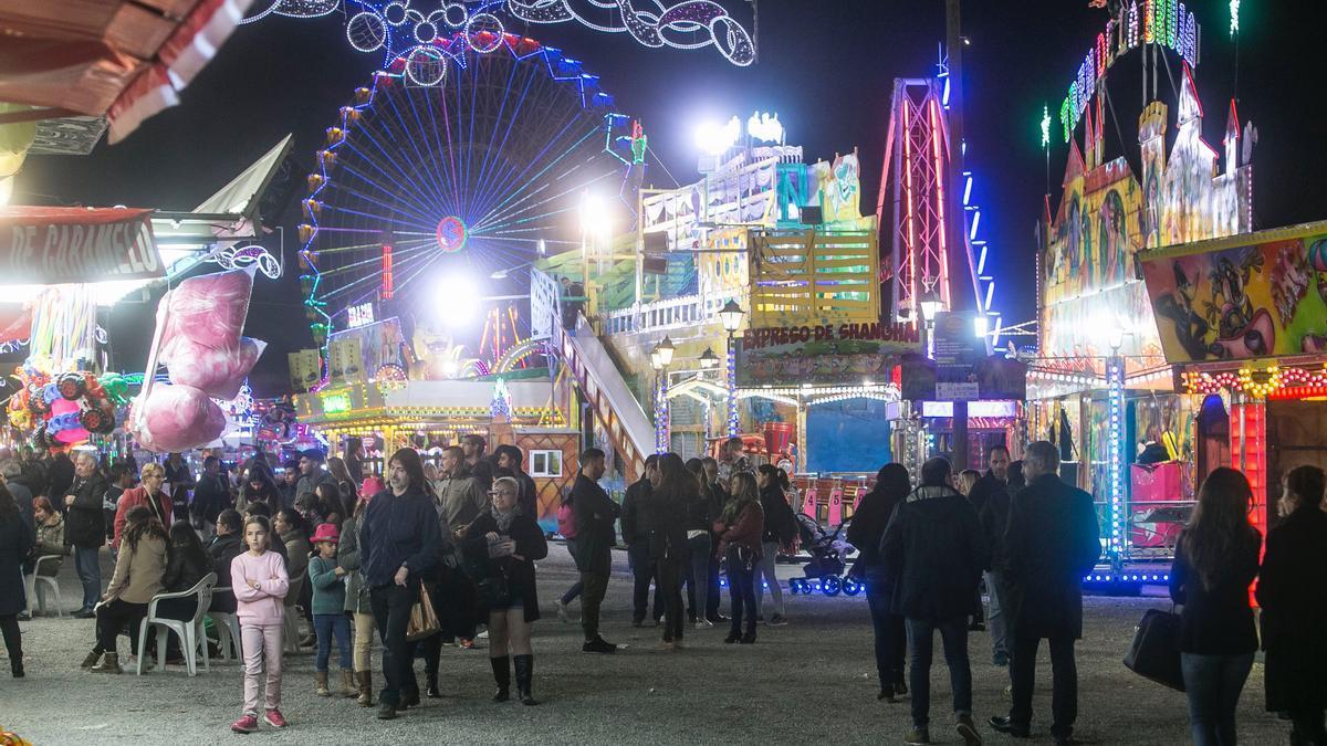 Imagen de archivo de la Feria de Navidad en Rabasa