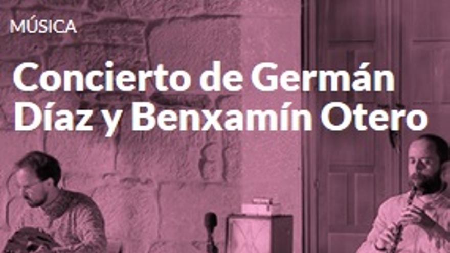 Concierto de Germán Díaz y Benxamín Otero