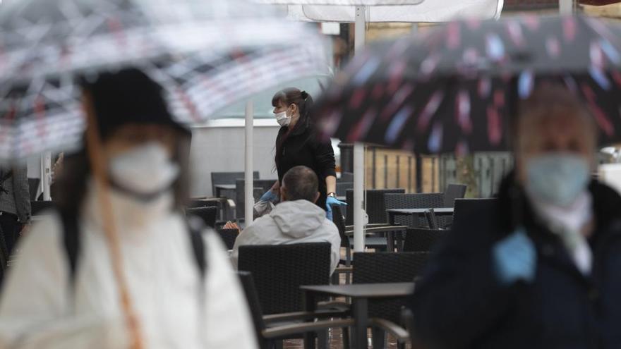 El tiempo: Asturias se prepara para un fin de semana de paraguas y chaqueta