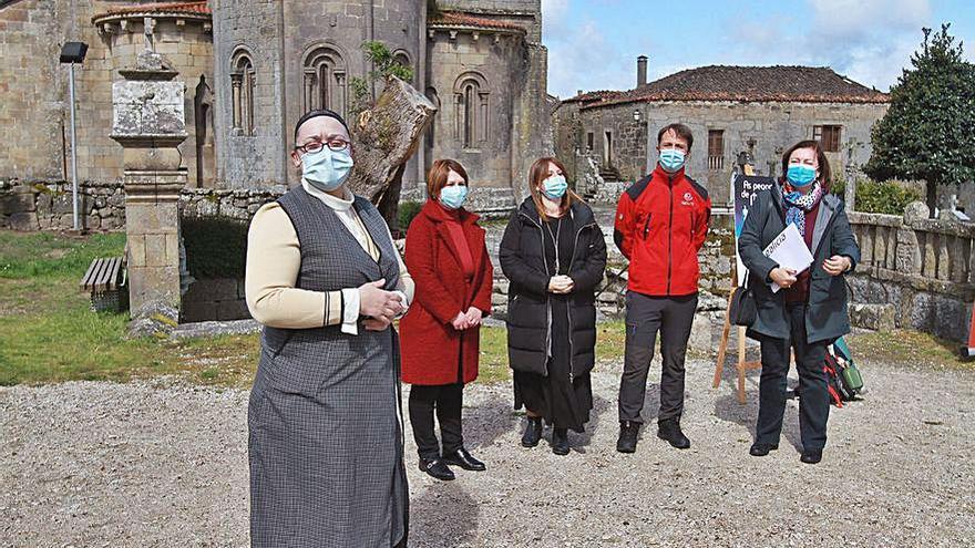 El Xacobeo llega a Allariz con visitas teatralizadas en Santa Mariña de Augas Santas
