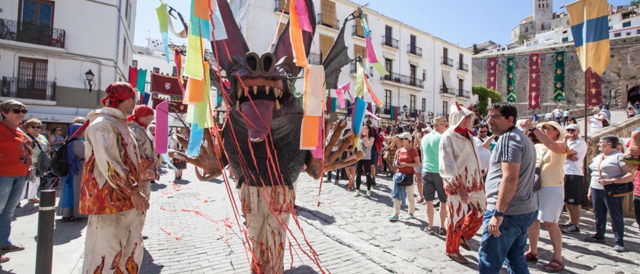 Último día de la Feria Eivissa Medieval