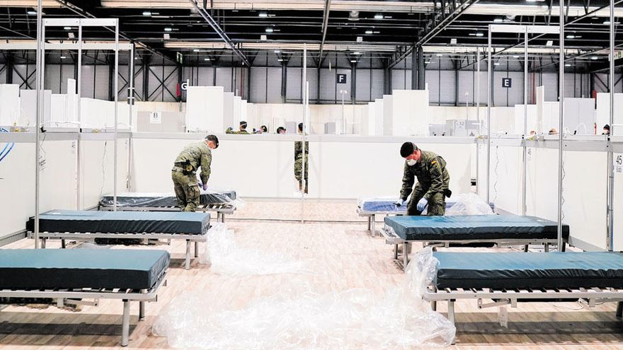 El hospital 'milagro', símbolo de la lucha contra la Covid-19