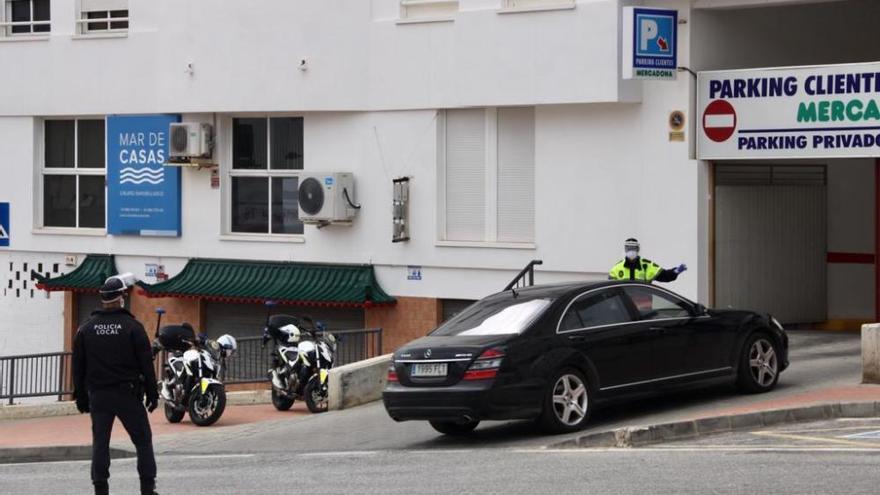 La Policía Local intensifica la vigilancia en los supermercados de El Campello