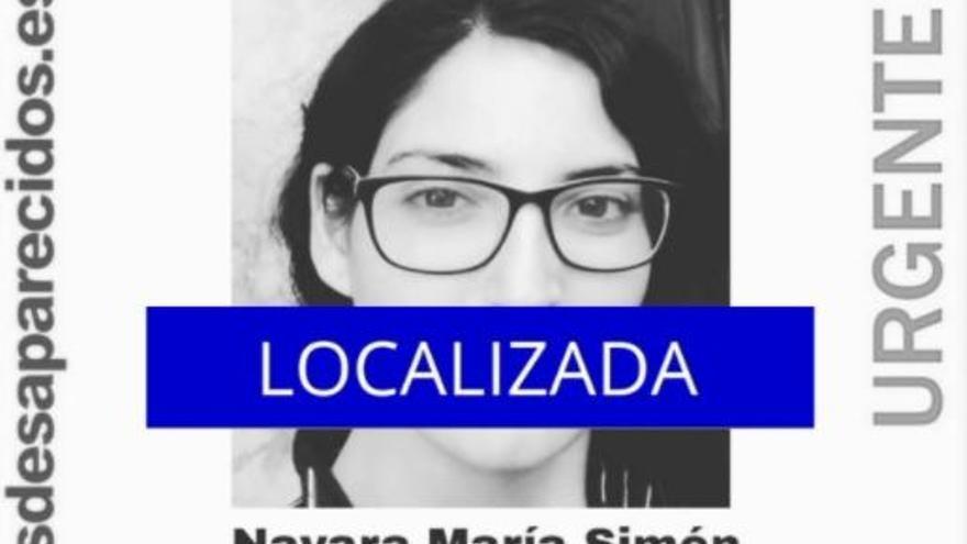 Localizan a la joven de 22 años de Castelló