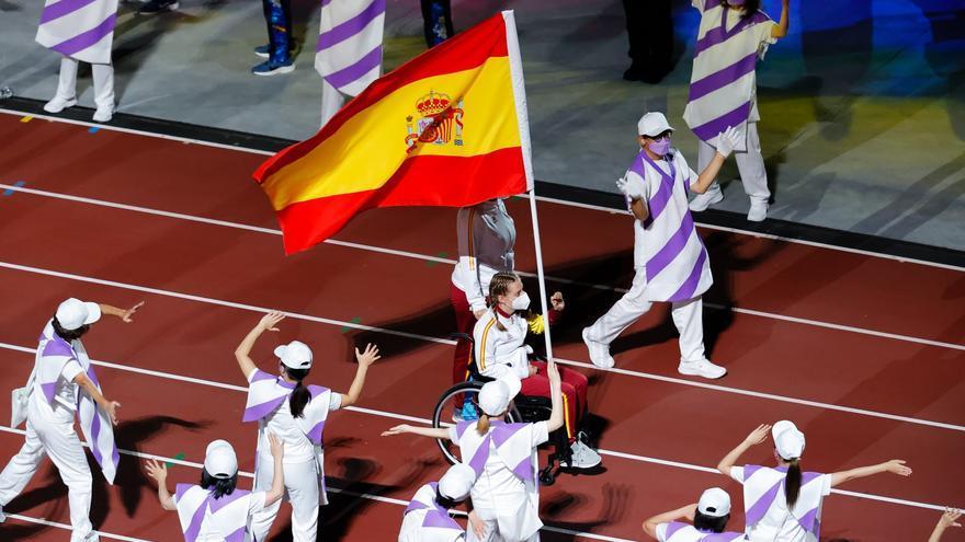 Medallero de España en los Juegos Paralímpicos de Tokio