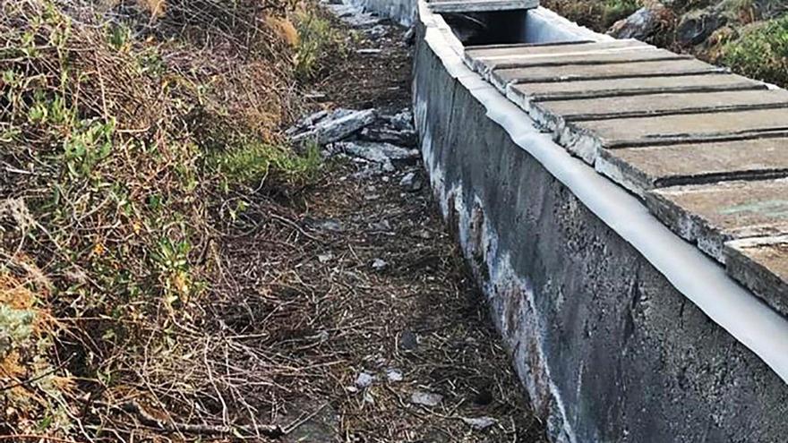 Aguas decide, entre 4 alternativas, reparar con PVC el canal LP-1