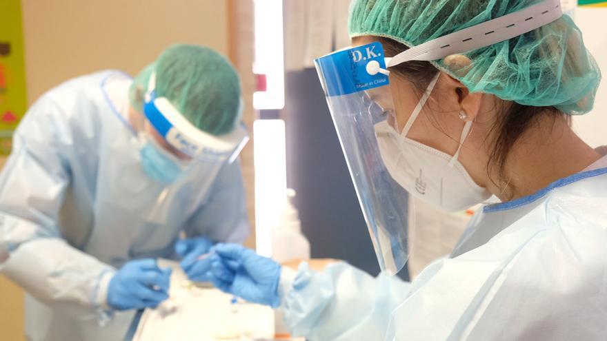 Alicante registra 589 nuevos casos de coronavirus en las últimas 24 horas