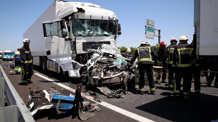 Condenado a dos años y medio un camionero ebrio que causó un accidente mortal en la A-4