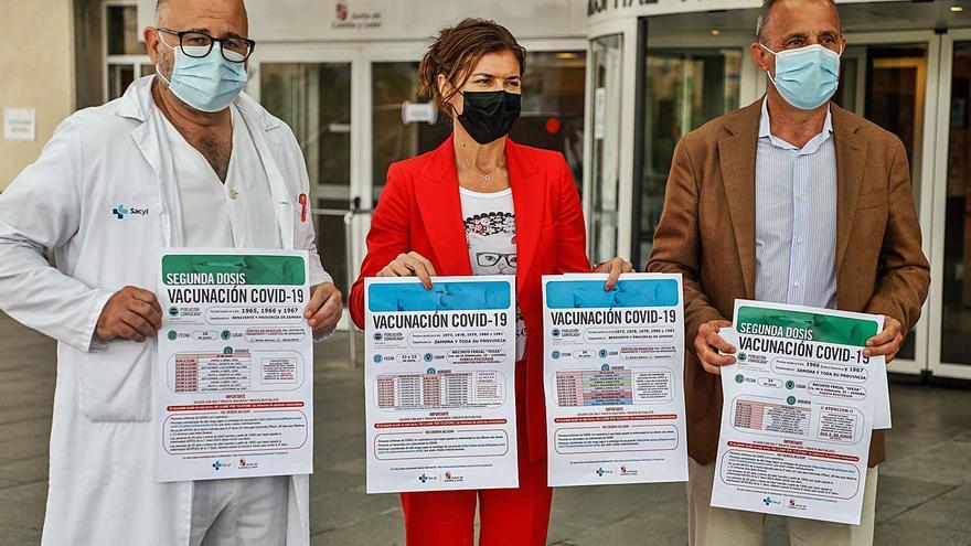 Sanidad vacunará la próxima semana a los zamoranos de entre 40 y 45 años