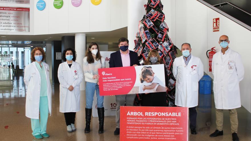 El Hospital del Vinalopó en Elche recoge 6.000 kilos de comida para los necesitados
