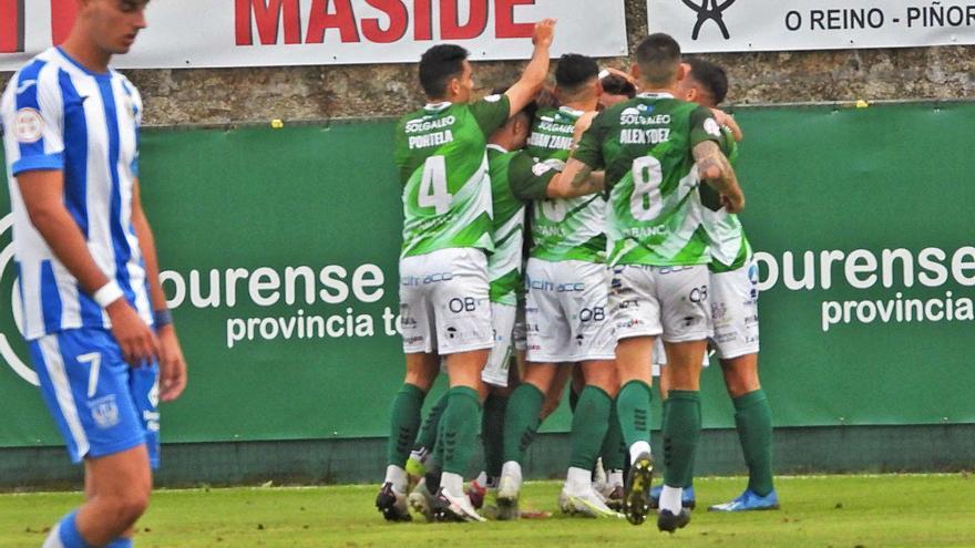 El Arenteiro alcanza la decena y aplaca al Leganés B