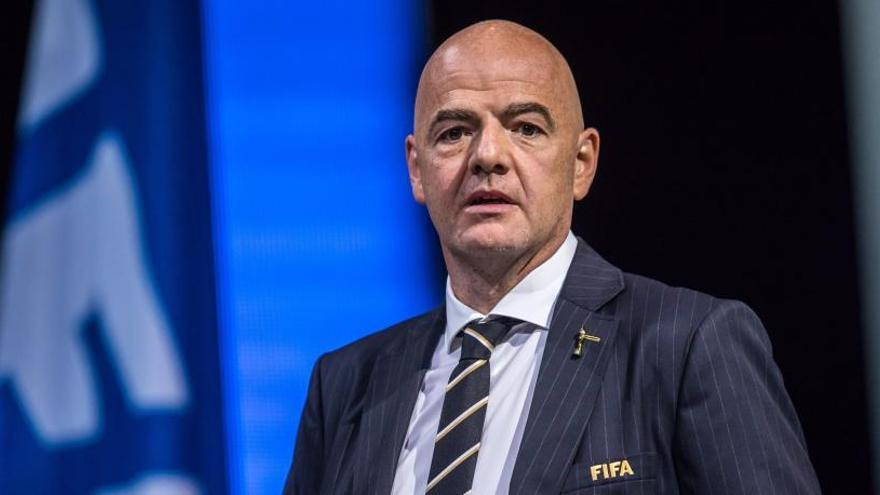 Infantino, reelegido presidente de la FIFA por aclamación