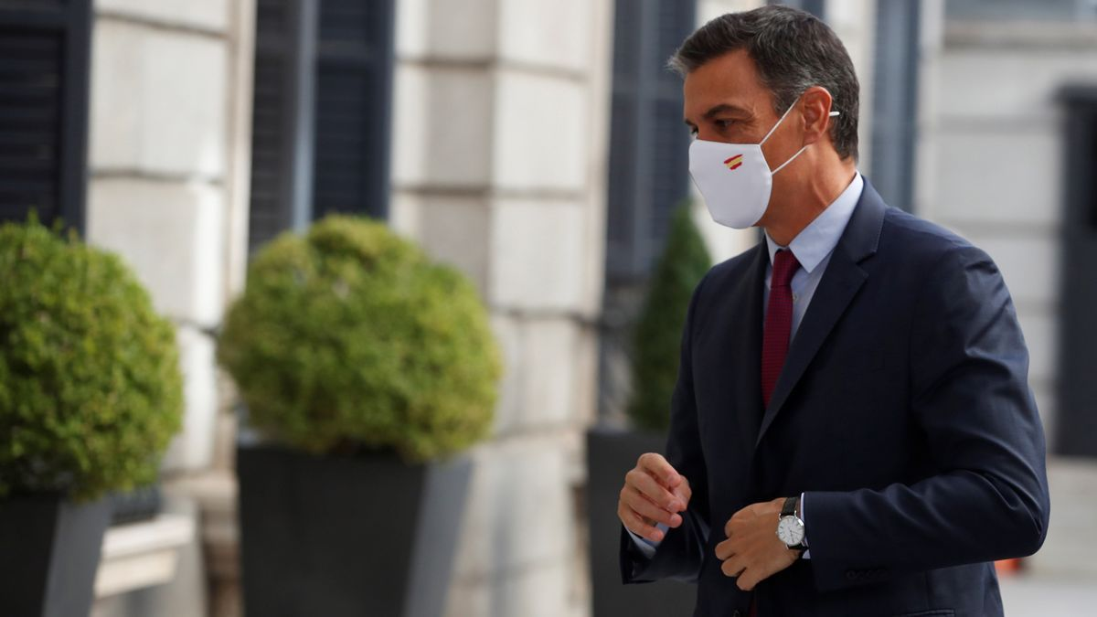 Sánchez expresa su solidaridad a las poblaciones afectadas por el incendio en Málaga