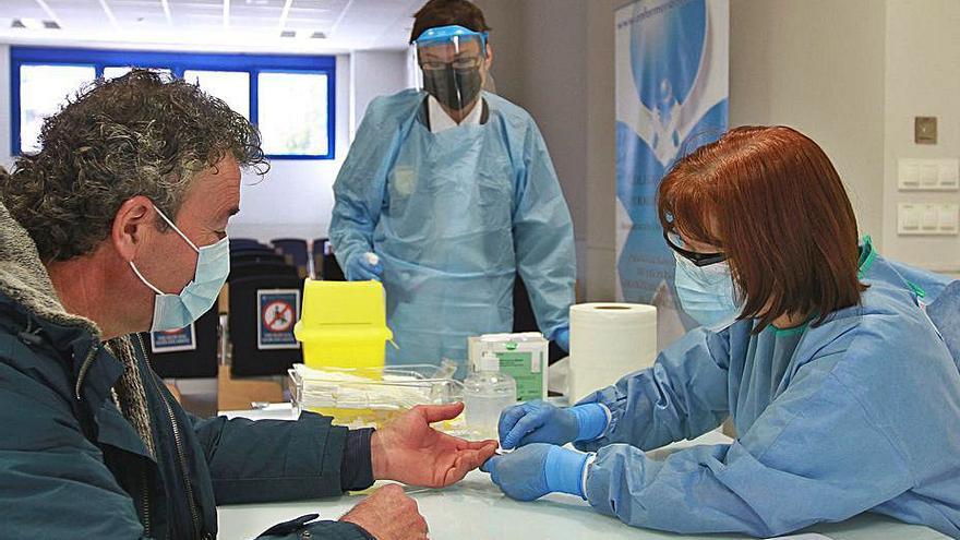 El Colegio de Enfermería empieza a realizar test rápidos a la población